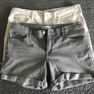 Size 12/14 - Two pairs of shorts